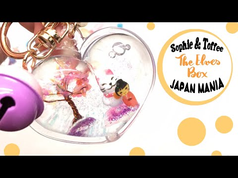 The Elves Box- September-Japan Mania- Sophie and Toffee- DIY- shaker charm