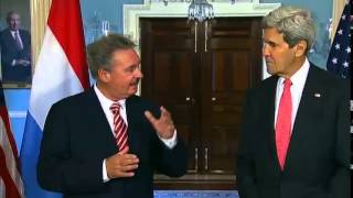 Secretary Kerry Delivers Remarks With Luxembourg Foreign Minister Asselborn