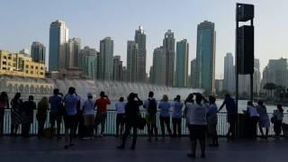 Dubai Fountain 6.00 p.m. Show 05.06.2016