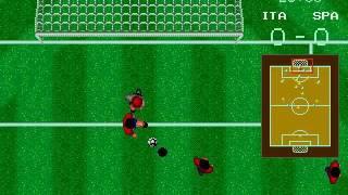 MD Sega Soccer (World Cup Italia 90)