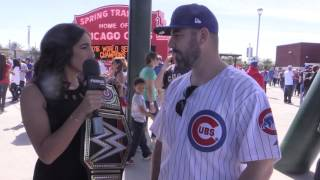 Cubs Fans Re-Live Game 7 Victory At Spring Training Celebration