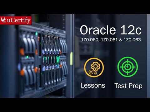 Oracle Database12c: 1Z0-061, 1Z0-062, and 1Z0-063
