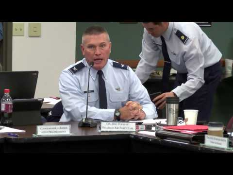 Peterson Air Force Base Update on PFC's Investigation