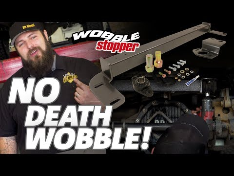 Does a Steering Box Stabilizer actually eliminate Death Wobble?