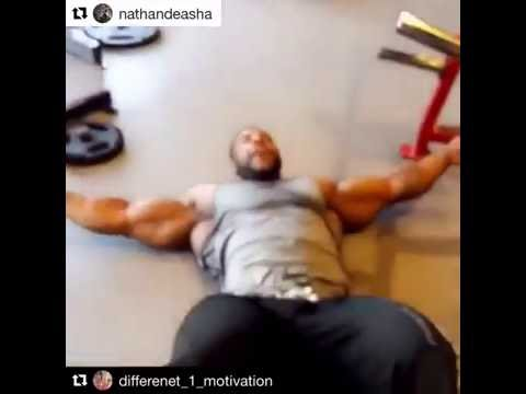Our Boy nathandeasha Getting Ready for the Big Mr. Olympia!