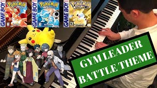 The gym leader battle music from the original Pokemon games. First ...