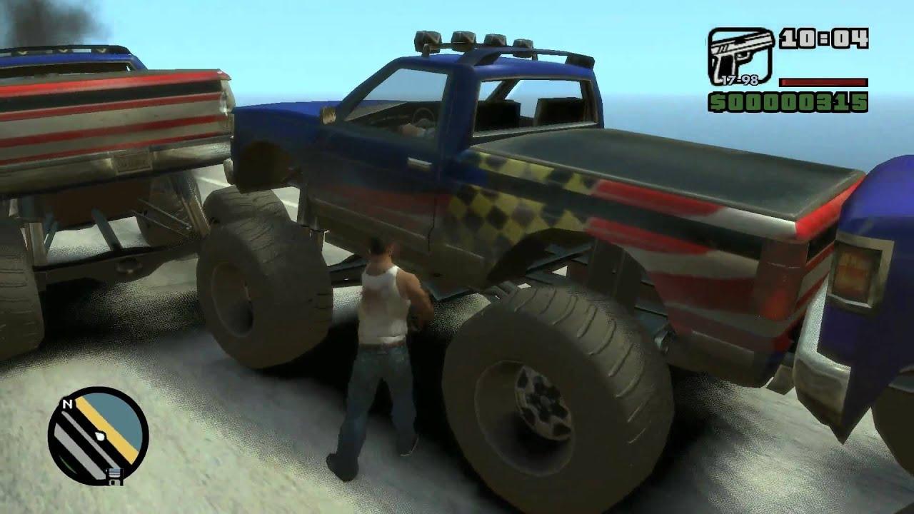 GTA IV: SA Beta 2 Gameplay - Monster Truck - YouTube