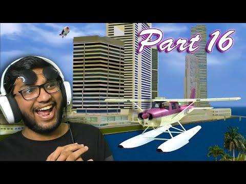 FLYING PLANE IN GTA VICE CITY RTX KHATARNAK GRAPHICS PART 16 !