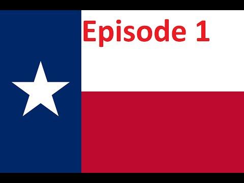 Hearts of Iron 4 US States Mod Texas-Episode 1!