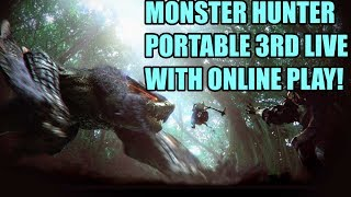 QBG Plays- Monster Hunter Portable 3rd! Getting Hype for Monster Hunter World!