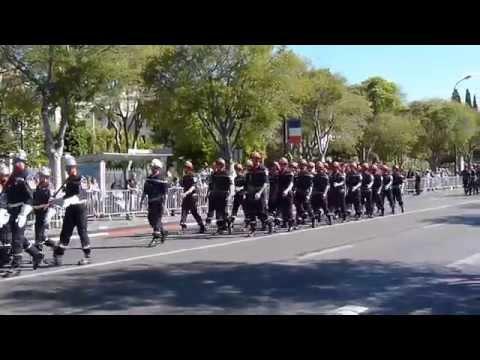 Défilé Marseille 14 Juillet (unité à pied) / Marseille parade July 14
