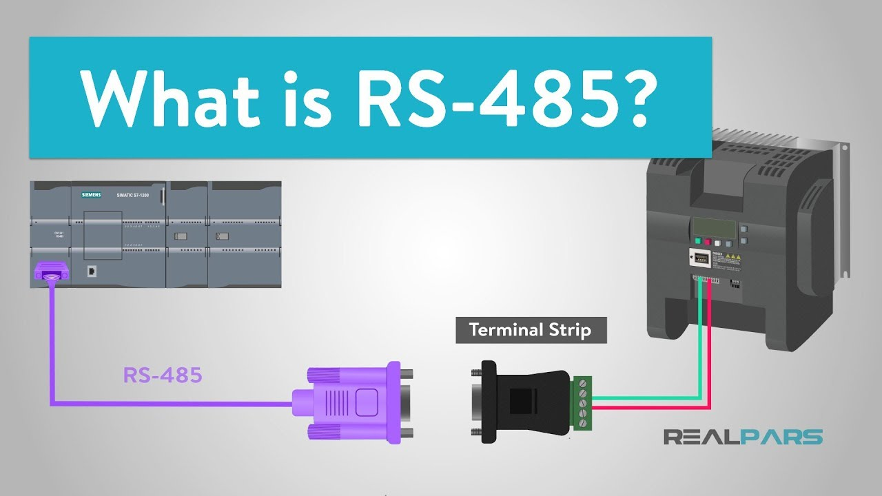 hight resolution of  realpars rs485