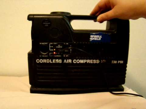 Campbell Hausfeld Cordless 230PSI Rechargeable Air ...