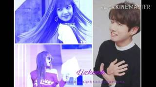 LizKook😍💜💘(BLACKPINK Lisa x BTS Jungkook) Bunicorn