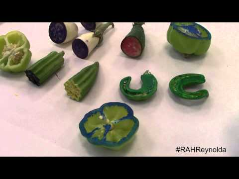 Reynolda Pop-up Studio: Veggie Prints with Julia