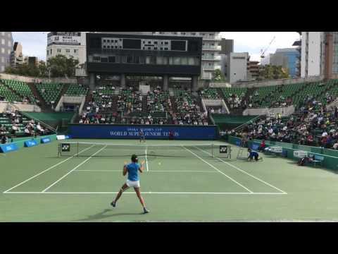 Mai Hontama vs Xin Yu WANG Osaka Mayor's Cup(GradeA) 2016 [FullHD 60fps]