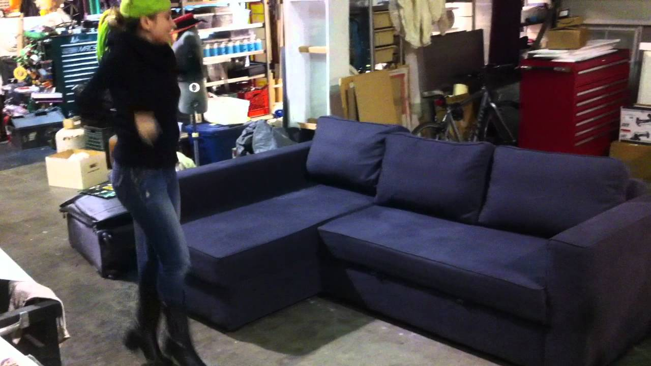 Used Ikea Manstad Sofa/Couch Bed For Sale   Los Angeles   YouTube