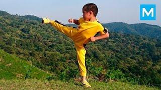 Реинкарнация БРЮСА ЛИ - 6 летний Ryusei Imai - БУДУЩАЯ ЗВЕЗДА боеых искусств