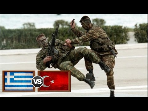 Greek Special Forces vs Turkish Special Forces 2017