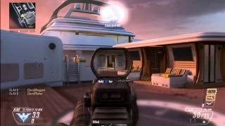 COD Black Ops 2 - Team Deathmatch On Hijacked  Gameplay (Guns, Perks, Killstreaks, Attachments)