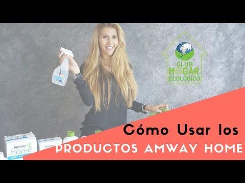 Como Usar detergente ecologico Amway Home