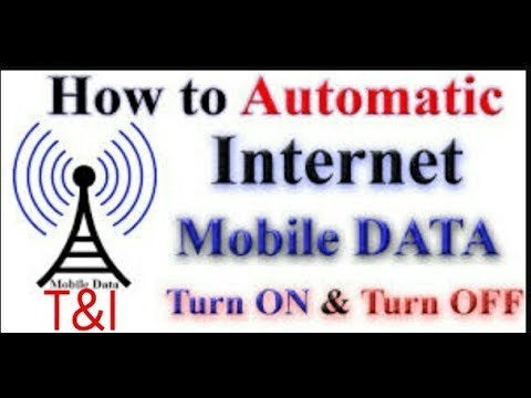 Automatically Turn Off Mobile Data When Device Is Locked In Android.