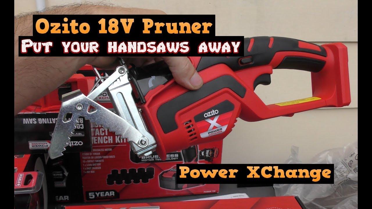 OZITO like Einhell Cordless Chainsaw Sharpener 18v Power X Change