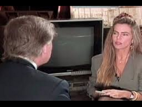 Bruna Lombardi entrevistou Trump nos anos 90