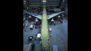 Building the Airbus A340 in 346 seconds!