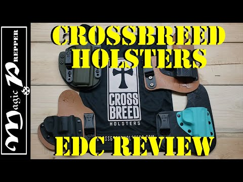 CrossBreed Holsters : EDC Holster Review