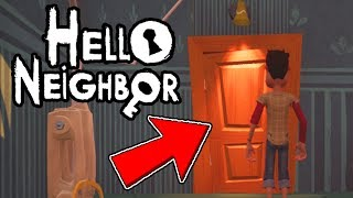 WHO IS THE SCREAMING PERSON BEHIND THE DOOR?! - Hello Neighbor Beta Update