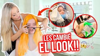 LE CAMBIO EL LOOK A LOS 2 NUEVOS INTEGRANTES DEL TEAM ANGEL!!😱🔥 EXTREMO!!!💇🏼‍♀️🙈| Katie Angel
