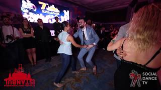 Diego & Magna - Salsa social dancing | Istanbul Int. Dance Festival 2018