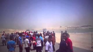 فرحة طلاب الجامعات المصرية بقناة السويس الجديدة