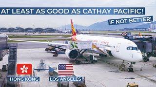 Tripreport   Hong Kong Airlines  Economy    Hong Kong - Los Angeles   Airbus A350-900xwb