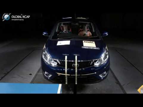Tata Zest 4 Star Safety Crash Test