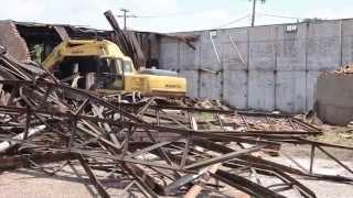 Demolition of 714 E. Main Street in Kilgore