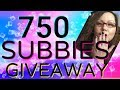 WHAT YOUTUBE MEANS TO ME || 750 SUBBIE GIVEAWAY REVEAL!!!