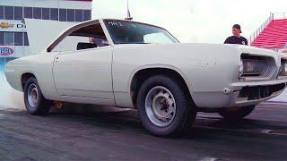 Junkyard Plymouth Barracuda Gets Nitrous!! | Roadkill #TBT | MotorTrend