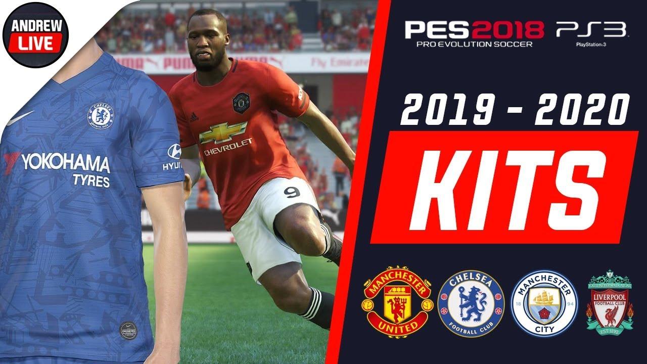 PES 2018 PS3 Premier League Kits 2019/2020 Vol 1 by