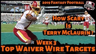 2019 Fantasy Football Rankings - Week 3 Top Waiver Wire Players To Target