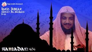 Ramadan 1434 - Idris Abkar - Surat Al-Maidah v1-26
