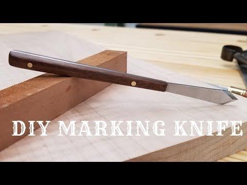 DIY Woodworking Marking Knife