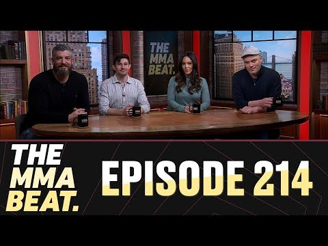 The MMA Beat Live - January 10, 2019