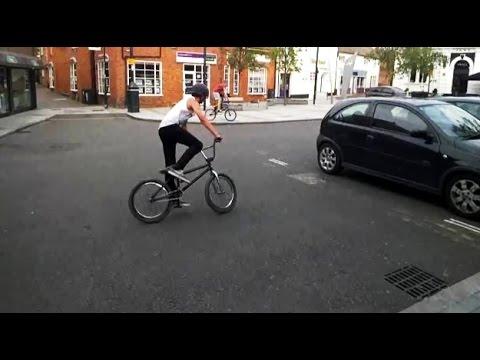 Google Glass: bike ride around Royston, Herts