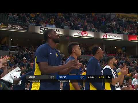 San Antonio Spurs vs Indiana Pacers: October 29, 2017