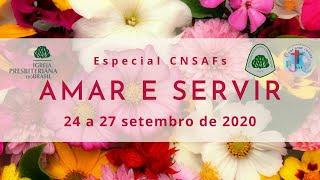 Especial CNSAFs #5 - 25/09 - 14h