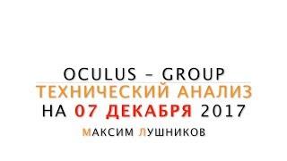 Технический анализ рынка Форекс на 07.12.17 от Максима Лушникова | OCULUS - Group