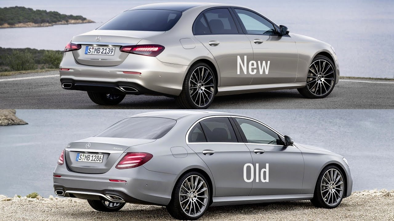 2021 mercedes e-class vs old mercedes e-class