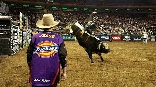Rodeo Bullfighters Distract Angry, One-Ton Animals